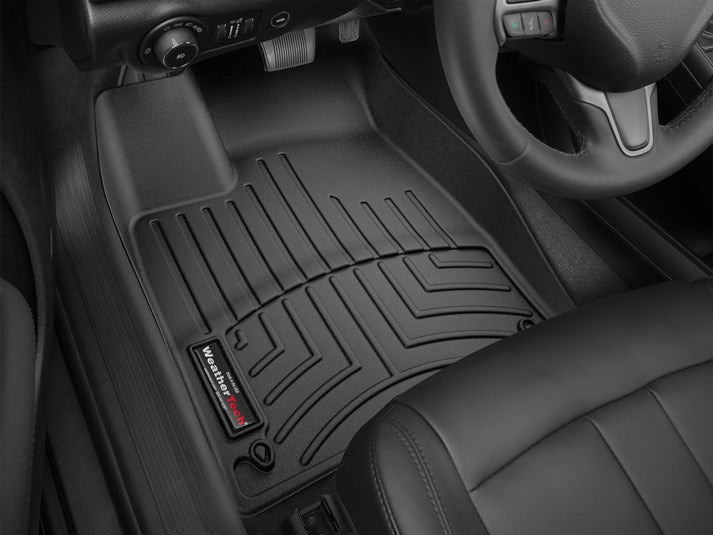 WeatherTech 446891-446892 / 44689-1-2 Digital Fit Floor Liners Chrysler 200 2015 2016 2017 15 16 17 Front and Rear Black Mats