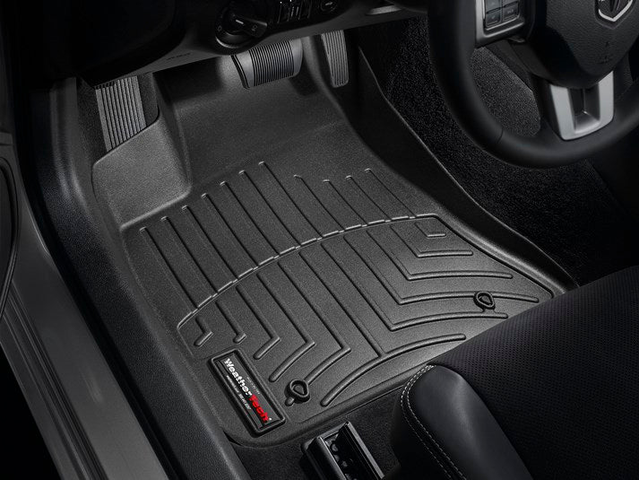 WeatherTech 443791 Digital Fit Floor Liners Dodge Charger 2011 2012 2013 2014 2015 2016 2017 2018 11 12 13 14 15 16 17 18 Front Black Mats