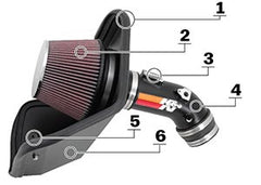 Knn cold air intake diagram