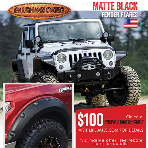 BUSHWACKER REBATE OFFER Q3 2018