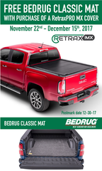 FREE BedRug Mat with RetraxPRO MX Purchase Black Friday Cyber Monday Deals 2017