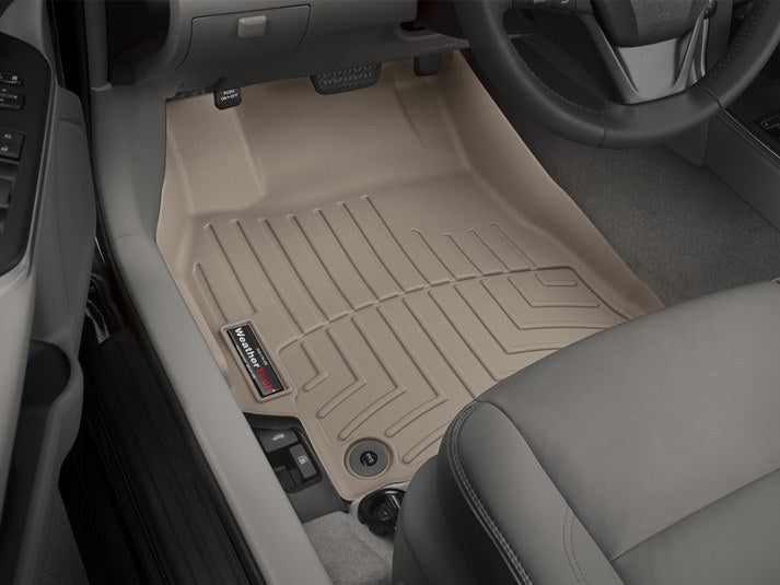 WeatherTech® 457881 Toyota Camry 15 16 17 TAN Digital Fit Floor Liners