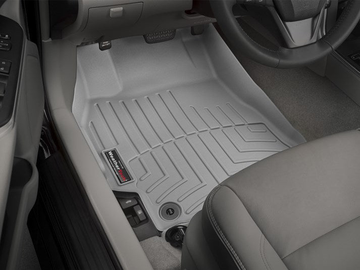 WeatherTech® 467881-464002 Toyota Camry 15 16 17 GRAY Digital Fit Floor Liners
