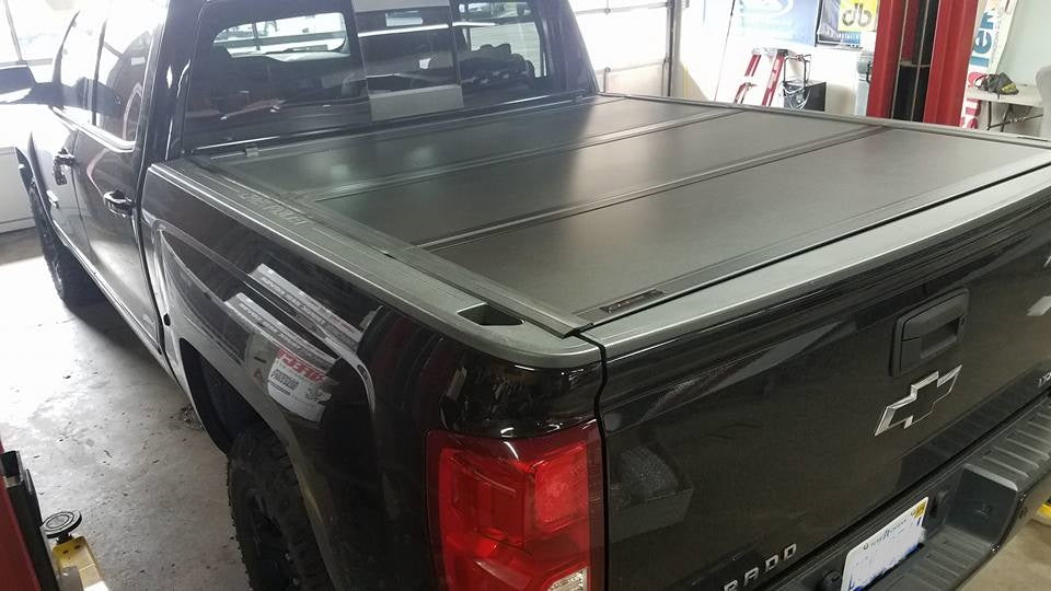 UX12018 Ultra Flex Tonneau 14-18 Chevy Silverado 5 foot 8 inch bed