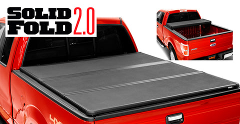 Extang Solid Fold 2.0 Matte Black Hard Folding Truck Bed Tonneau Covers