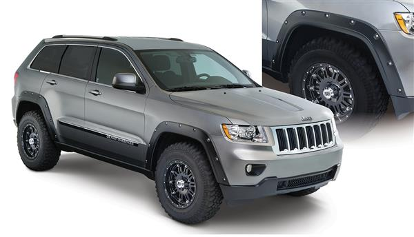 Bushwacker 10927-02 Pocket Style Fender Flares Jeep Grand Cherokee 11-18