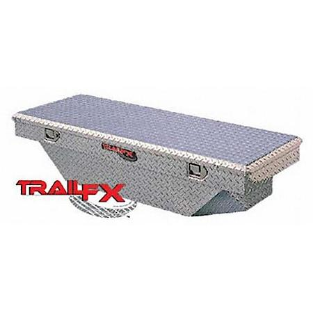 "TrailFX-110511-54"" Single Lid Crossover Angled Tool Box 