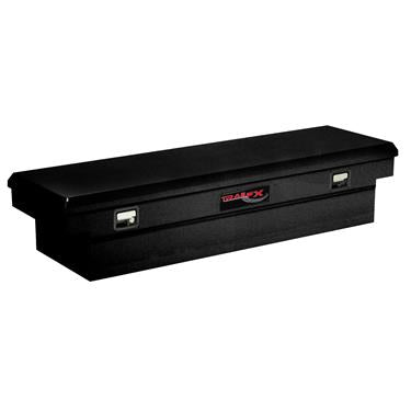 TrailFX 110702S Gloss Black Steel Crossover Single Lid Tool Box