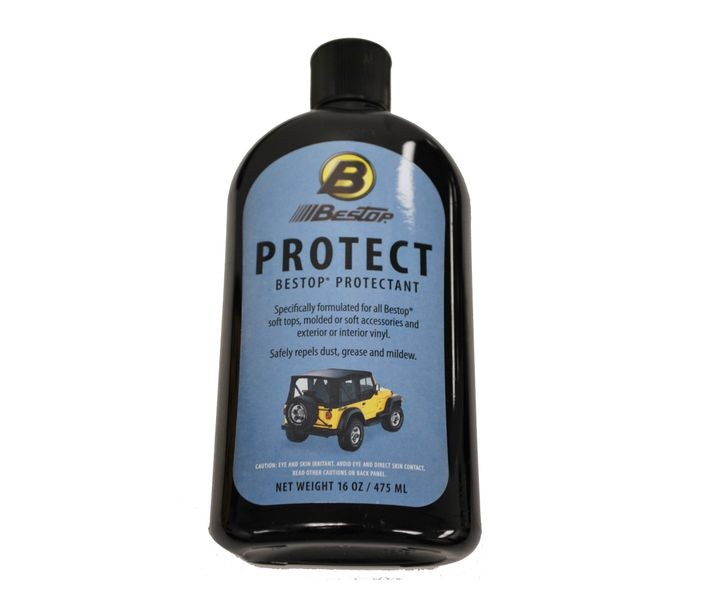 Bestop-11202-00-Bestop Protectant- To Repel Dust, Grease, Dirt, And Mildew 16oz Bottle Retail Packaged Bestop-AutoAccessoriesGuru.com