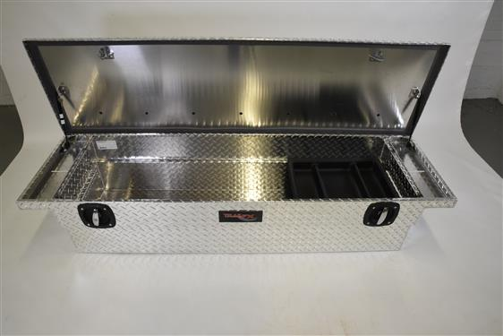 TrailFX® 120691CR - Trail Lock™ Low Profile Crossover Tool Box w/ Rail