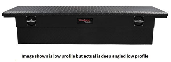 TrailFX-121693CR-TrailFX® 121693CR - Trail Lock™ Low Profile Deep Angled Tool Box-AutoAccessoriesGuru.com