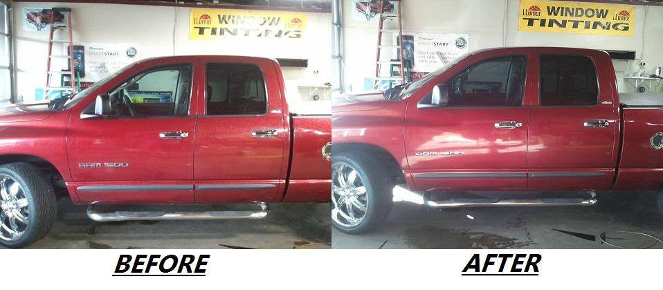 Suntek-FRONT 2 WINDOWS Pickup Truck-Window Tinting | 2, 3, or 4 Door Pickup Trucks-AutoAccessoriesGuru.com