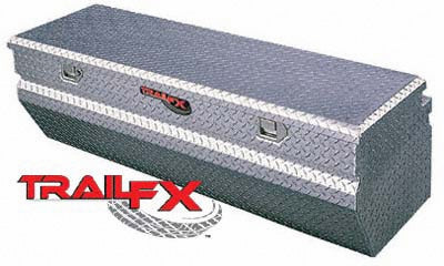 TrailFX® 150361 Truck Chest 36 Inch Tool Box Polished Aluminum