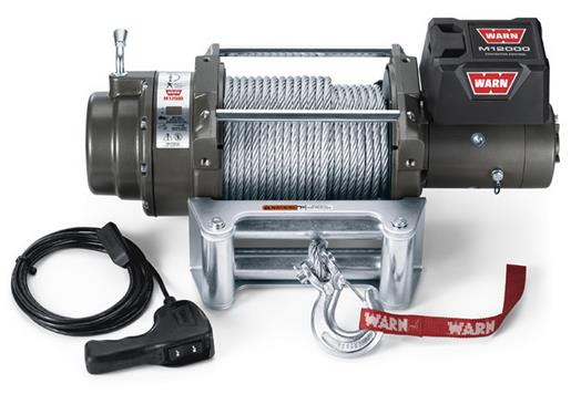 Warn M12000 Heavy Weight Recovery Winch 12,000 Lb Capacity 17801