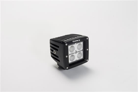 TrailFX 2122141P 3 Inch LED Cube Lights 90 degree Flood Pair of 2