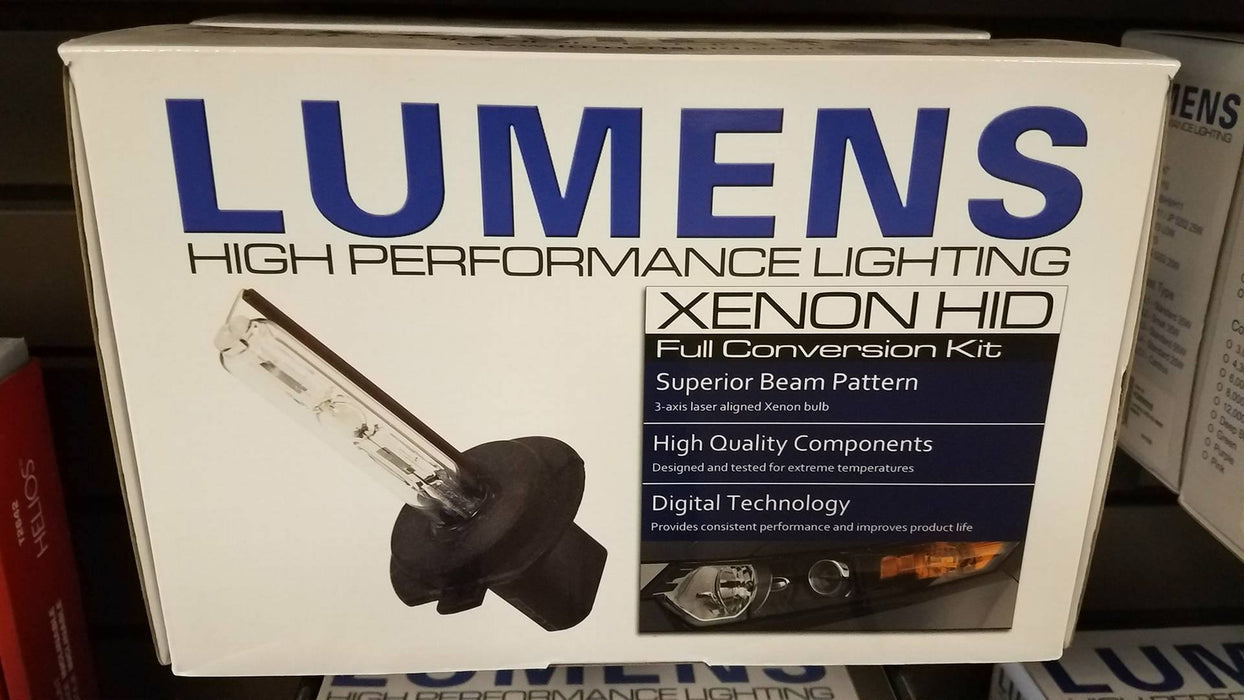 Lumens-K069006-Lumens K06 Single Beam HID Lighting Kit | 6000K | Bulb Type 9006-AutoAccessoriesGuru.com