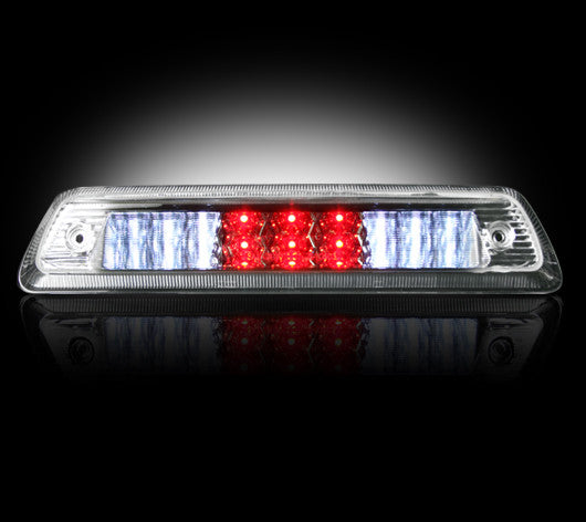 RECON 264112CL - CLEAR LED 3rd Brake Light 09-18 Dodge RAM