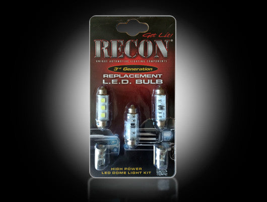 Recon 264161HP LED DomeLight Replacement Kit