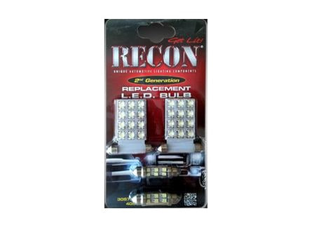 Recon LED DomeLight Kit 07-13 Chevy Silverado/GMC Sierra 264162