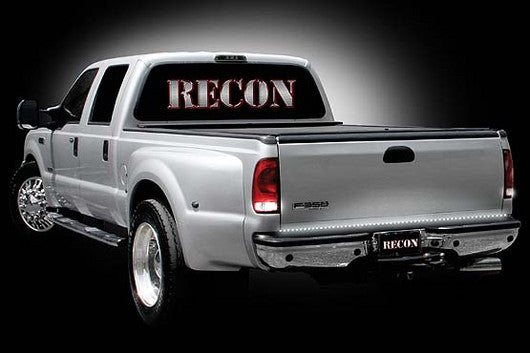 "RECON-26415-Recon ""White Lightning"" White & Red LED Tailgate Light Bar 49"" Part# 26415-AutoAccessoriesGuru.com"