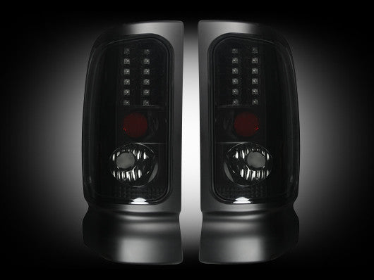 RECON-264170BK-RECON LED Tail Lights Dodge Ram 94-01 1500 94-02 2500/3500 SMOKED Part# 264170BK-AutoAccessoriesGuru.com