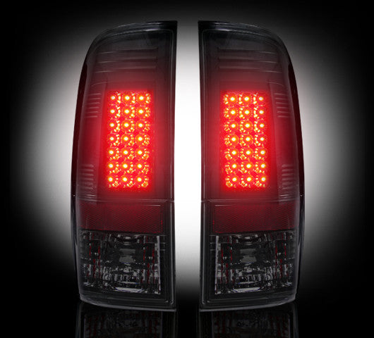 Recon LED Tail Lights Ford F-150 97-03 SMOKED #264172BK-Auto Accessories Guru .COM