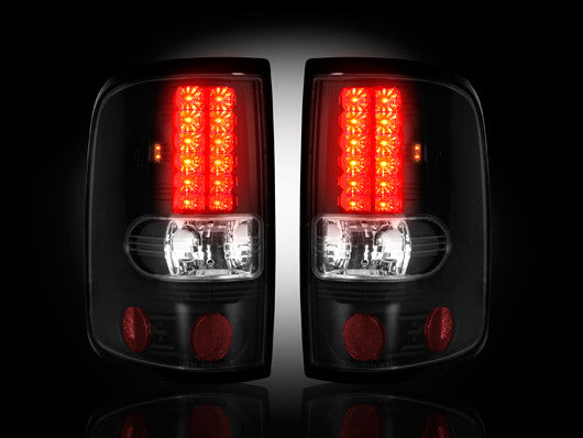 Recon LED Tail Lights Ford F-150 04-08 SMOKED #264178BK-Auto Accessories Guru .COM