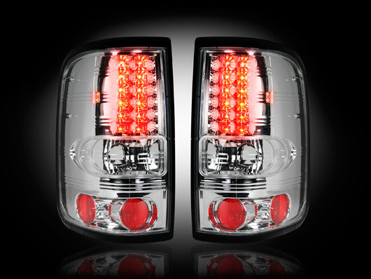 Recon LED Tail Lights Ford F-150 04-08 CLEAR #264178CL-Auto Accessories Guru .COM
