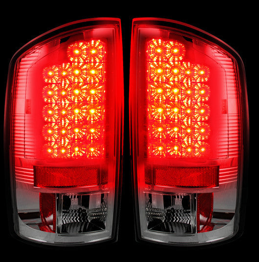 Recon LED Tail Lights Dodge Ram 07-08 1500 07-09 2500/3500 CLEAR #264179CL-Auto Accessories Guru .COM