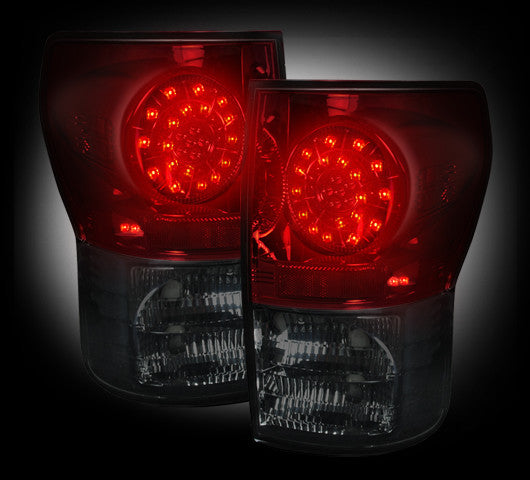 264188RBK Recon LED Tail Lights 07-13 Toyota Tundra
