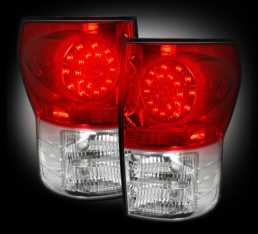 264188RD Recon LED Tail Lights 07-13 Toyota Tundra