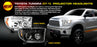 RECON-264194CL-RECON Projector Headlights 07-13 Tundra / 08-13 Sequoia CLEAR w LED HALOS 264194CL-AutoAccessoriesGuru.com