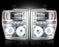 RECON-264196CLCC-RECON Projector Headlights Ford Superduty 08-10 CLEAR w CCFL HALOS Part# 264196CLCC-AutoAccessoriesGuru.com
