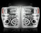 RECON-264196CL-RECON Projector Headlights Ford Superduty 08-10 CLEAR w LED HALOS Part# 264196CL-AutoAccessoriesGuru.com