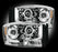 RECON-264199CL-RECON Projector Headlights Dodge Ram 06-08 CLEAR w/ LED HALOS Part# 264199CL-AutoAccessoriesGuru.com