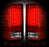 RECON-264239RD-RECON LED Tail Lights GMC Sierra 14-17 RED CLEAR Part# 264239RD-AutoAccessoriesGuru.com