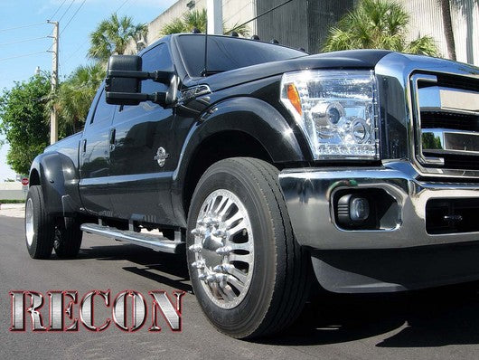 RECON-264272CLCC-RECON Projector Headlights Ford Superduty 11-16 CLEAR w CCFL HALOS Part# 264272CLCC-AutoAccessoriesGuru.com