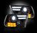 RECON-264276BKC-RECON Projector Headlights Dodge Ram 13-16 SMOKED Part# 264276BKC-AutoAccessoriesGuru.com