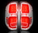 264288CL Recon LED Tail Lights 14-17 Toyota Tundra