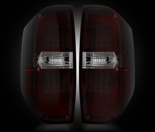 264288RBK Recon LED Tail Lights 14-17 Toyota Tundra