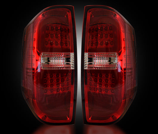 264288RD Recon LED Tail Lights 14-17 Toyota Tundra