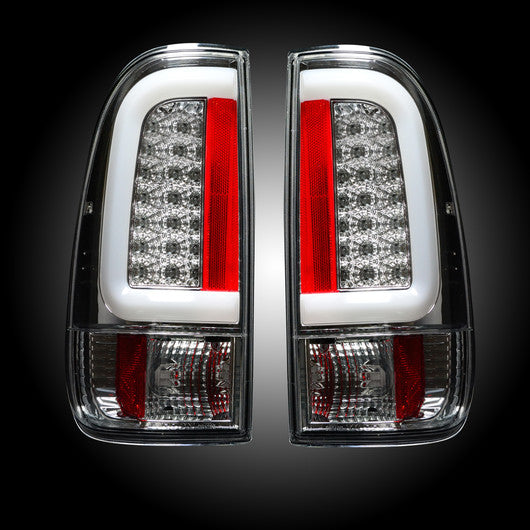 Recon LED Tail Lights Ford SuperDuty 99-07 CLEAR #264292CL-Auto Accessories Guru .COM