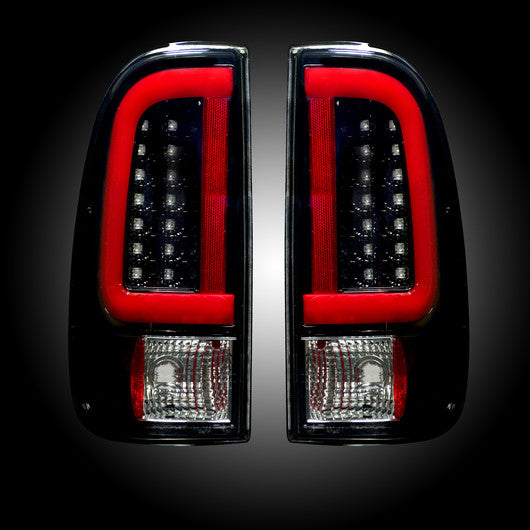 Recon LED Tail Lights Ford SuperDuty 08-16 SMOKED #264293BK-Auto Accessories Guru .COM