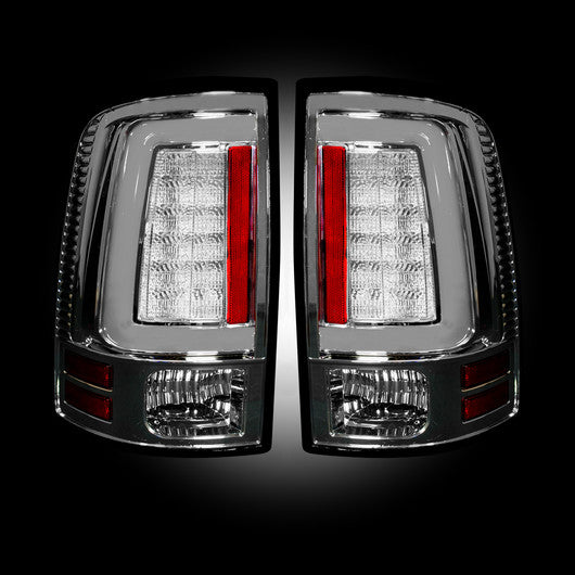 Recon LED Tail Lights Dodge Ram 09-14 CLEAR OLED #264369CL-Auto Accessories Guru .COM