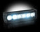 "RECON-264507CL-RECON 264507CL Single Row 8"" LED Light Bar w/ Six 5-Watt CREE XTE-AutoAccessoriesGuru.com"