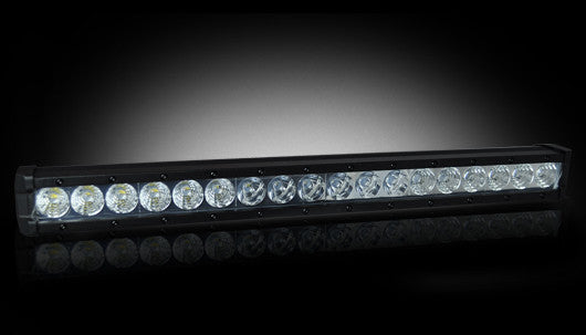 "RECON 264508CL Single Row 20"" LED Light Bar w/ 18 5-Watt CREE XTE"