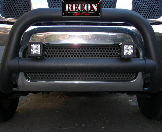 "RECON 264511CLS Square 3"" LED SPOT Light w/ Four 5-Watt CREE XTE LED"