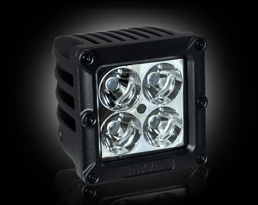"RECON 264511CLF Square 3"" LED FLOOD Light w/ Four 5-Watt CREE XTE LED"