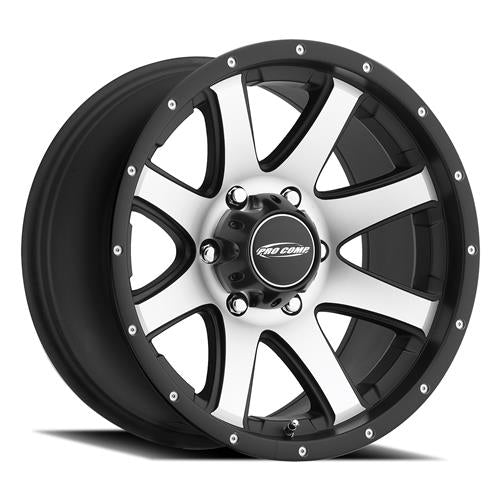Pro Comp Alloy Wheels|Pro Comp USA-3186-2960-Series 86 Reflex 20x9 with 6 on 120 Bolt Pattern Machined With Black Trim Pro Comp Alloy Wheels-AutoAccessoriesGuru.com