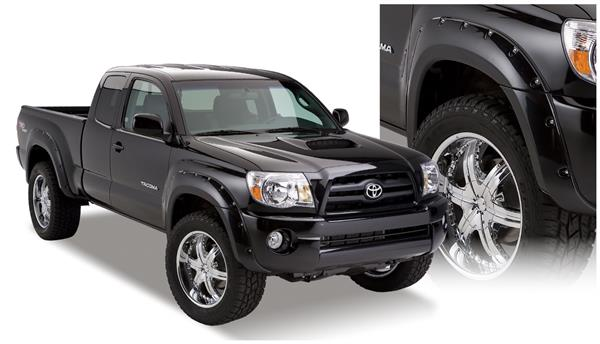 Bushwacker 31920-02 Pocket Style Fender Flares 05-11 Toyota Tacoma 6' Bed